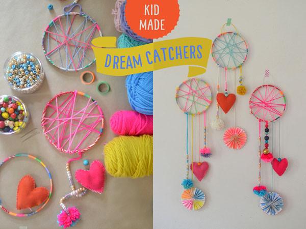 DIY Dream Catchers For Kids  DIY Dream Catchers Made by Kids ARTBAR