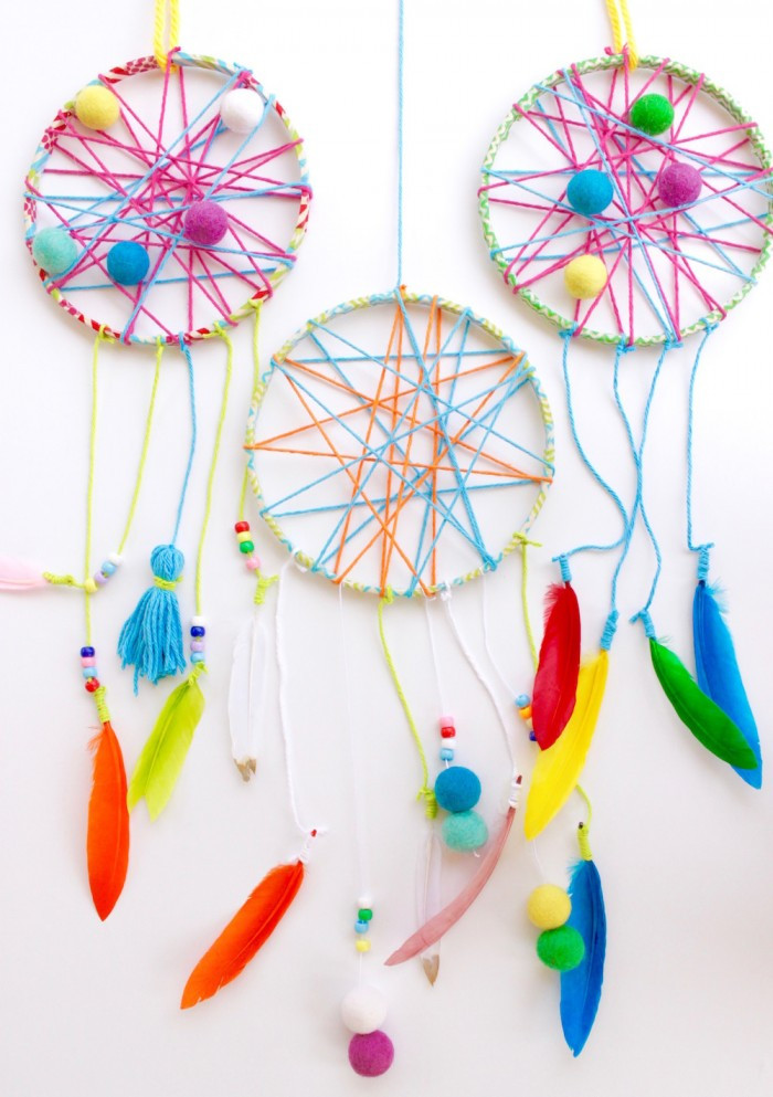 DIY Dream Catchers For Kids  Start Catching Dreams with this Whimsical DIY Project