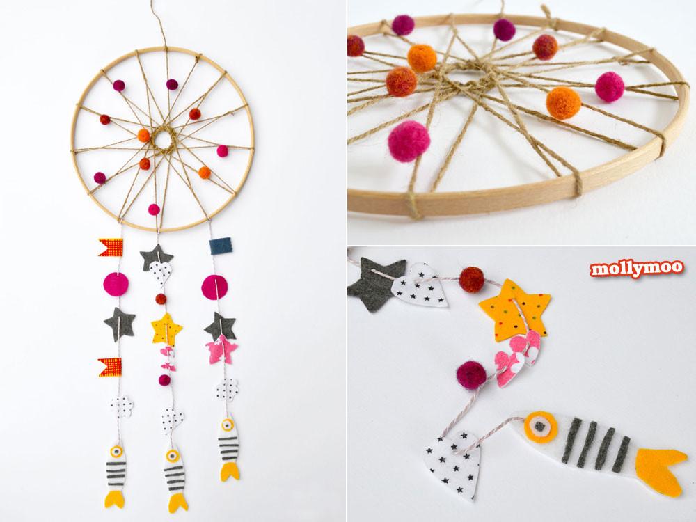 DIY Dream Catchers For Kids  Gorgeous DIY Dreamcatchers