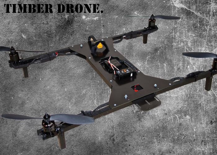 Best ideas about DIY Drone Kits . Save or Pin Timber Drone DIY Kit Launches Kickstarter video Now.