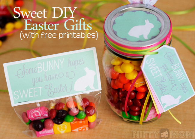 Best ideas about DIY Easter Gifts . Save or Pin 2 Sweet DIY Easter Gift Ideas with Printable Tags Now.