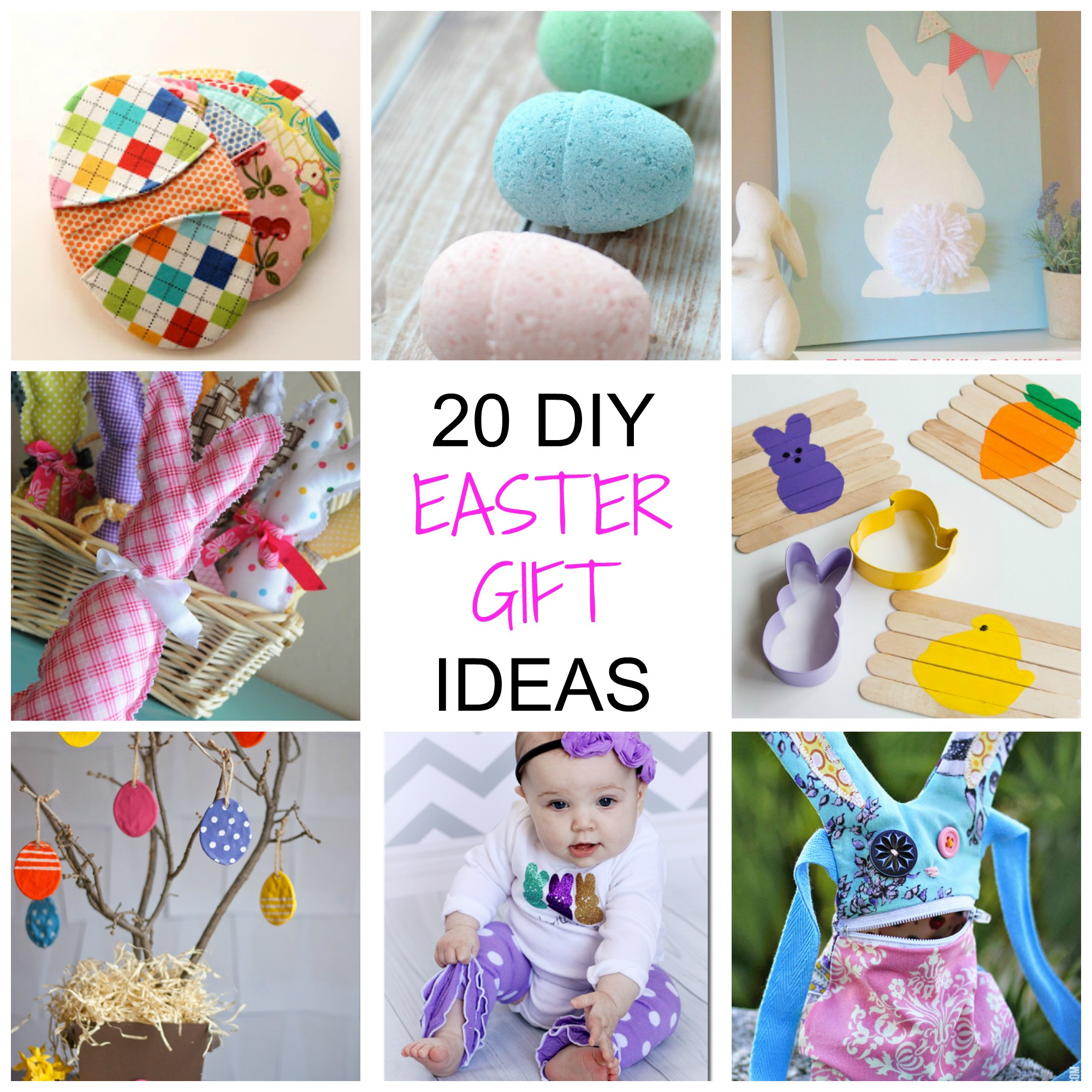 Best ideas about DIY Easter Gifts . Save or Pin 20 Non Chocolate DIY Easter Gifts Simplify Create Inspire Now.
