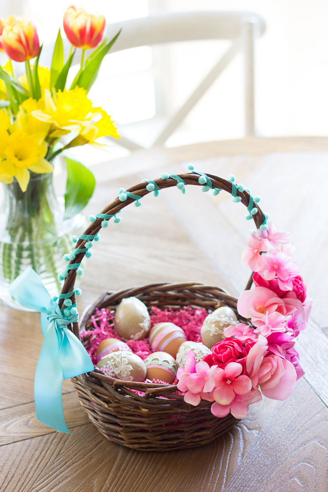 Best ideas about DIY Easter Gifts . Save or Pin Thrifty DIY Floral Easter Baskets Now.