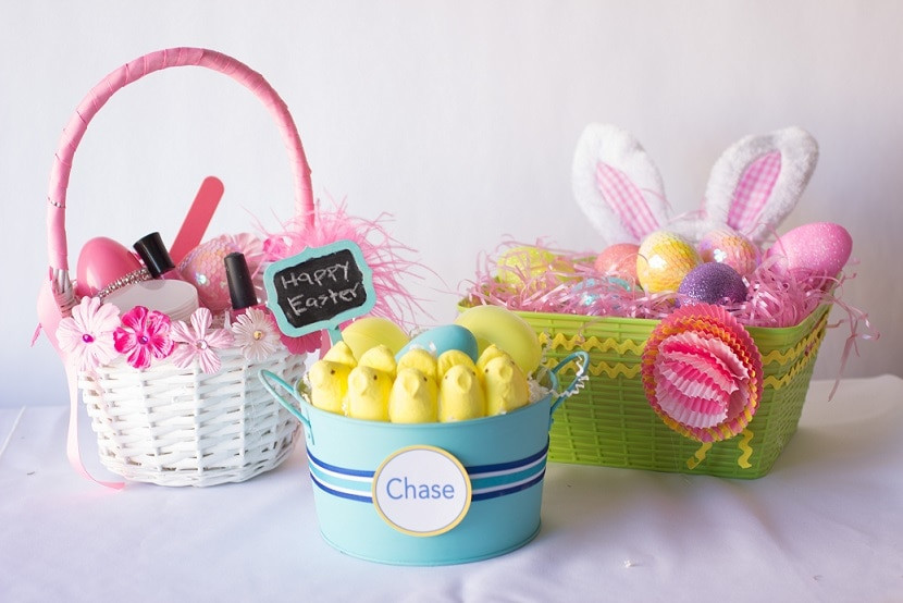 Best ideas about DIY Easter Gifts . Save or Pin 3 DIY Easter Baskets for Under $15 thegoodstuff Now.