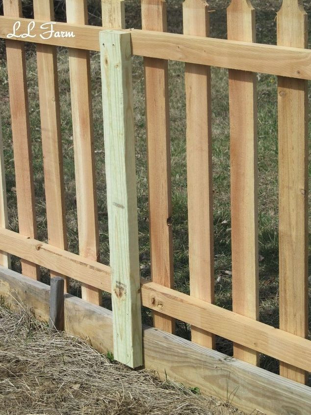 DIY Fence Building  DIY Garden Fence Using Picket Fence Panels
