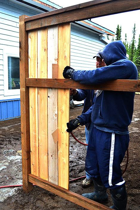 DIY Fence Building  Diy Wood Fence PDF Woodworking