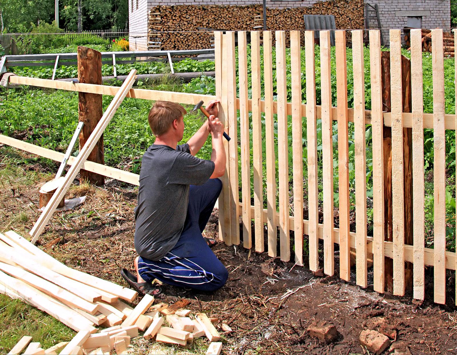 DIY Fence Building  Building a good fence