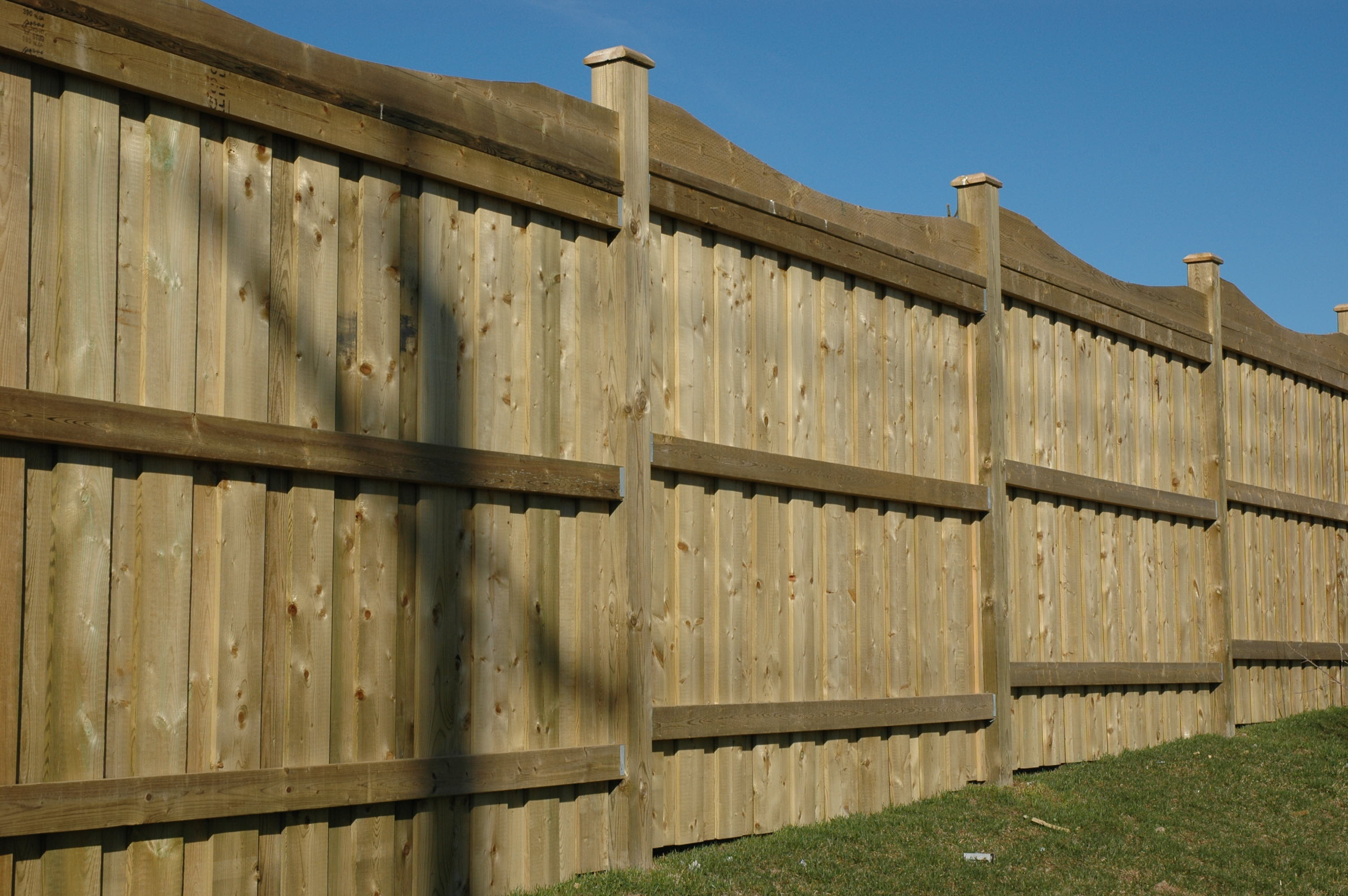 DIY Fence Building  PDF How To Build A 6 Foot Wood Privacy Fence Plans DIY