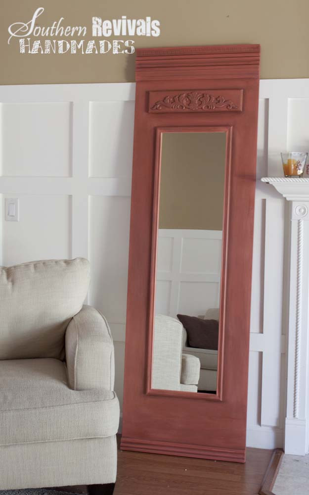 Best ideas about DIY Floor Mirror . Save or Pin French style Trumeau Mirror Southern Revivals Now.