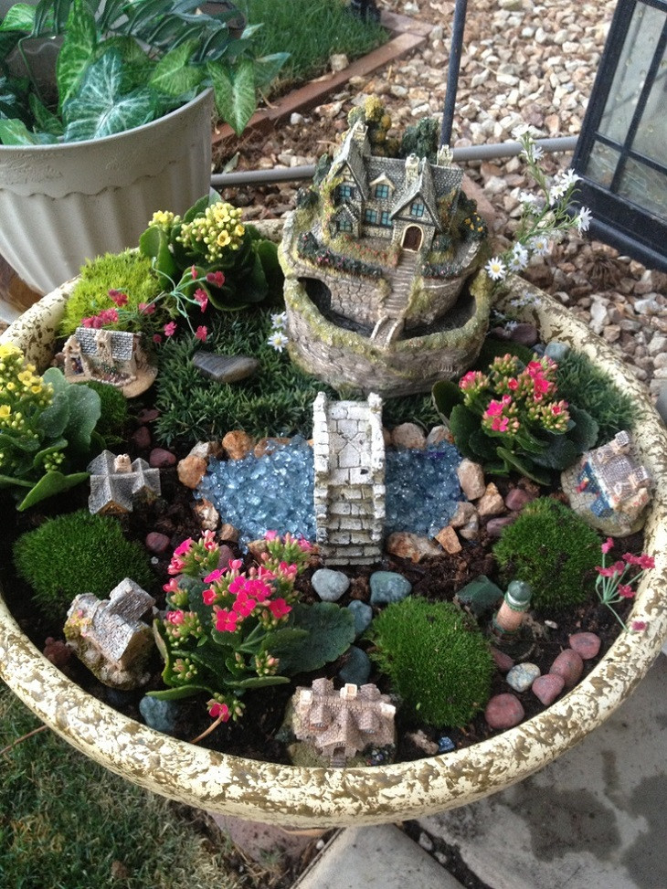 Best ideas about Diy Garden Ideas . Save or Pin 30 DIY Ideas How To Make Fairy Garden Now.