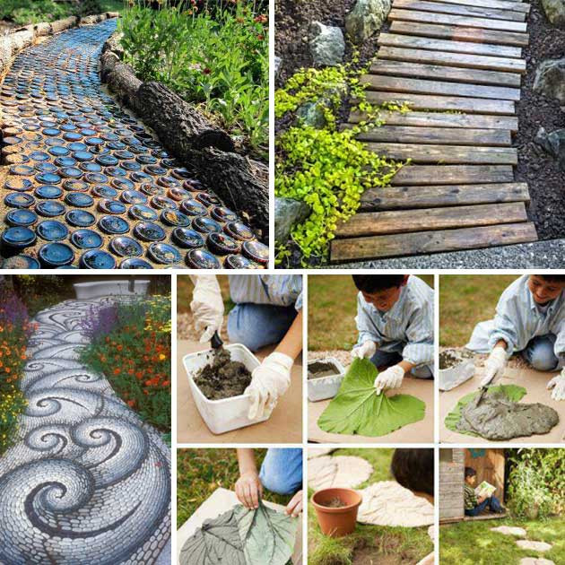 Best ideas about Diy Garden Ideas . Save or Pin 25 Lovely DIY Garden Pathway Ideas Amazing DIY Interior Now.