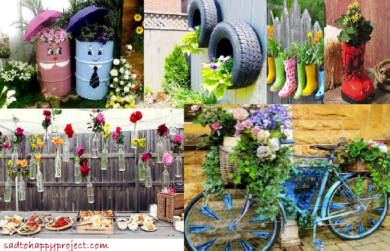 Best ideas about Diy Garden Ideas . Save or Pin 14 DIY Gardening Ideas To Make Your Garden Look Awesome in Now.