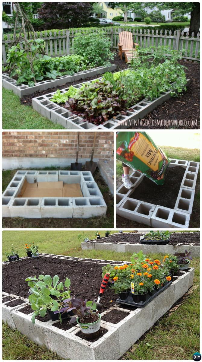 Best ideas about Diy Garden Ideas . Save or Pin DIY Raised Garden Bed Ideas Instructions [Free Plans] Now.