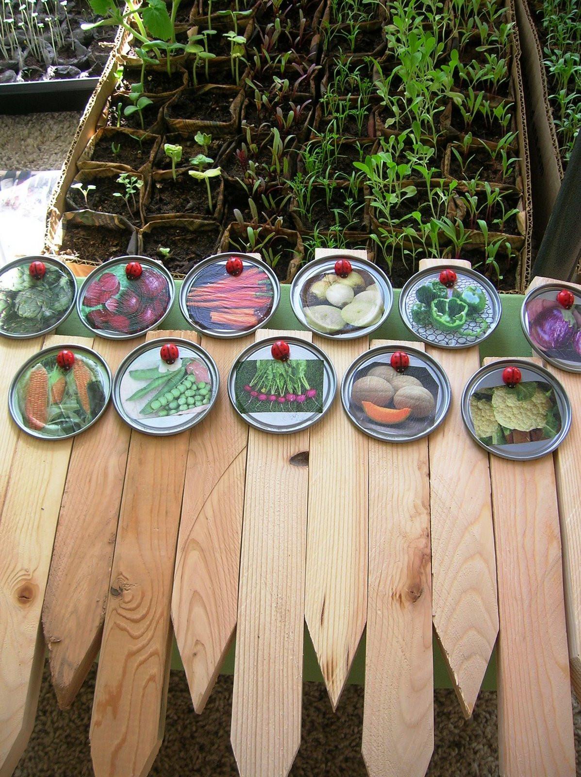 DIY Garden Markers  Homestead Revival Plant & Garden Markers