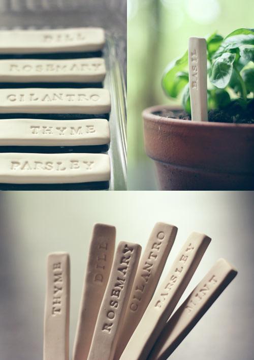 DIY Garden Markers  DIY Garden Markers