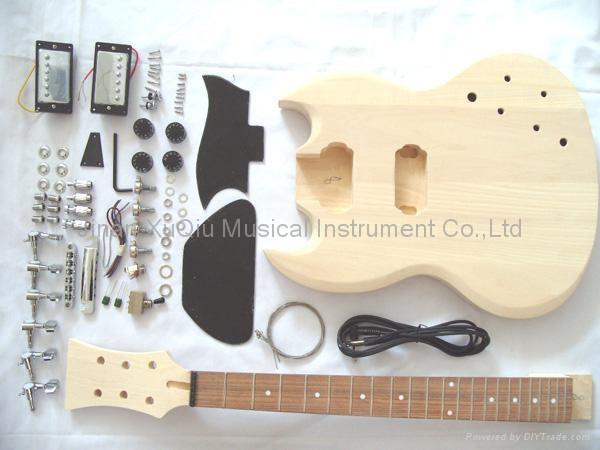 DIY Guitar Kits Suppliers  Guitar Kits SNGK OEM China Manufacturer Musical