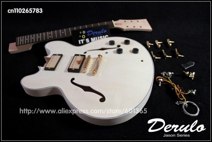 DIY Guitar Kits Suppliers  Aliexpress Buy DIY Electric Guitar Kit Set In Neck