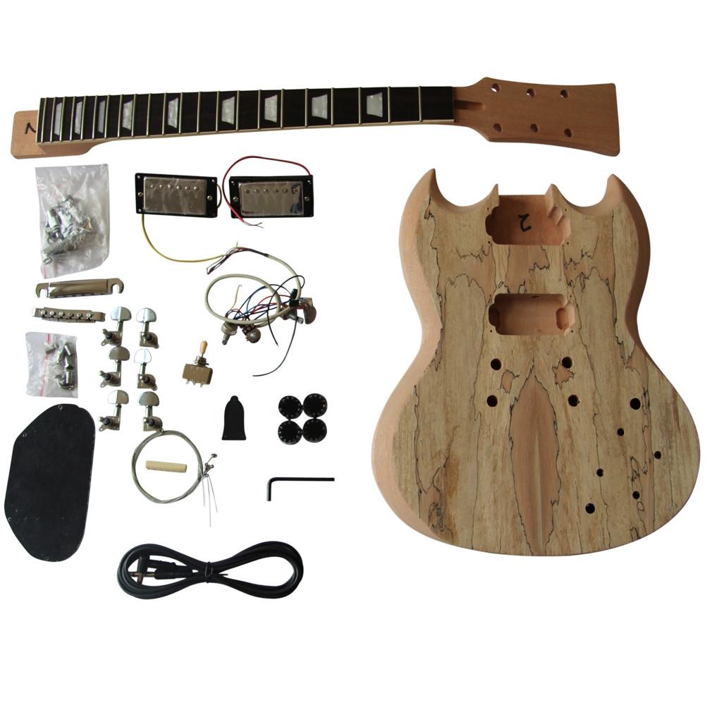 DIY Guitar Kits Suppliers  GD510 Coban Guitars DIY Electric Guitar Kit Mahogany Body