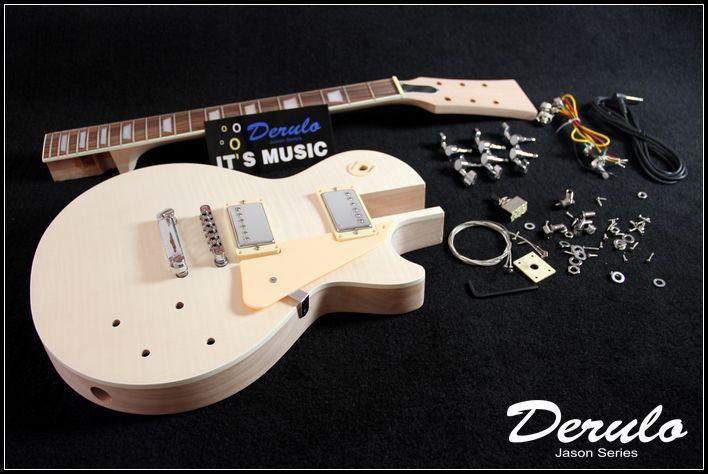 DIY Guitar Kits Suppliers  Aliexpress Buy DIY Electric Guitar Kit Set In Solid