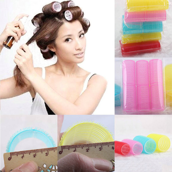 Best ideas about DIY Hair Curlers . Save or Pin 6Pcs Big Self Grip Hair Rollers Cling Any Size DIY Hair Now.