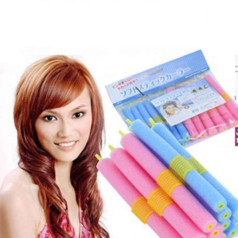Best ideas about DIY Hair Curlers . Save or Pin 12pcs User friendly Hairdressing Tool DIY Hair Rollers Now.