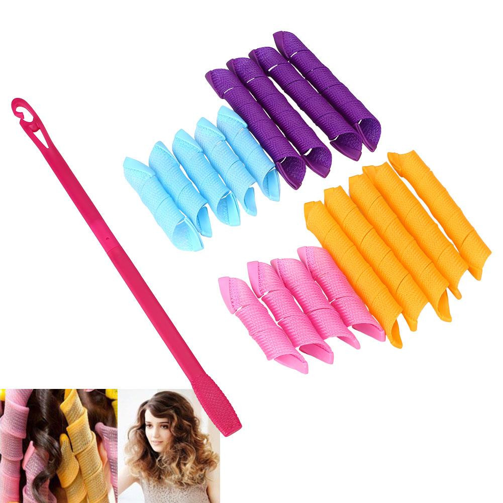 Best ideas about DIY Hair Curlers . Save or Pin 18PCS Set Magic Hair Curlers Styling Perm Ringlets Rollers Now.