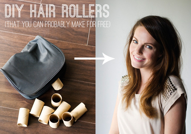 Best ideas about DIY Hair Curlers . Save or Pin Freckles in April My Cheapest Beauty Secret DIY Hair Rollers Now.