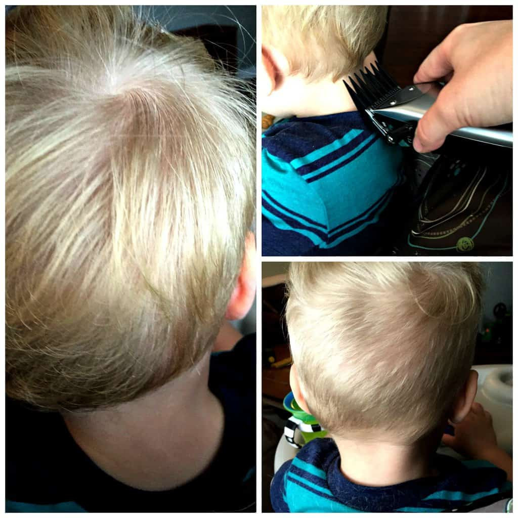 Best ideas about Diy Hair Cut . Save or Pin DIY Toddler Boy Haircut Now.