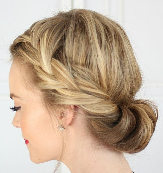 Best ideas about Diy Hair Cut . Save or Pin 14 Easy Braid Hairstyles You Can Try Our Hairstyles Now.