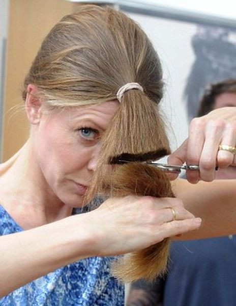 Best ideas about Diy Hair Cut . Save or Pin Celeb Hairdresser's Tip for a DIY Haircut 7 pics Now.