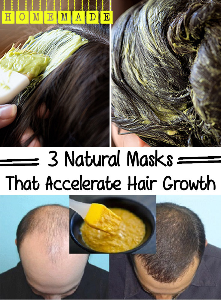 Best ideas about DIY Hair Growth Mask . Save or Pin 3 Natural Masks That Accelerate Hair Growth Now.