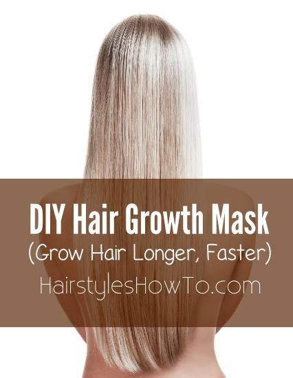 Best ideas about DIY Hair Growth Mask . Save or Pin DIY Hair Growth Mask Hair and Beauty Tutorials Now.