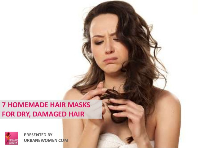 Best ideas about DIY Hair Mask For Dry Damaged Hair . Save or Pin 7 Homemade Hair Mask For Dry Damaged Hair Now.
