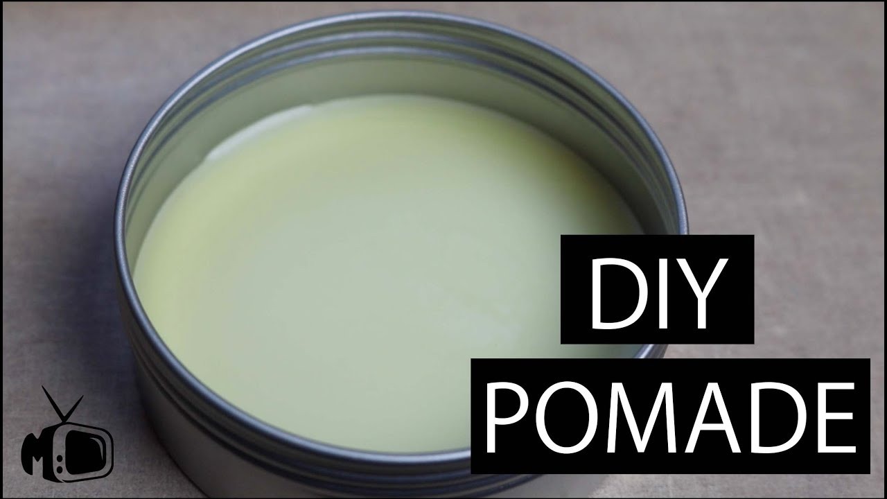 Best ideas about DIY Hair Pomade . Save or Pin DIY Pomade I How To Make Pomade l Make your own Hair Pr Now.