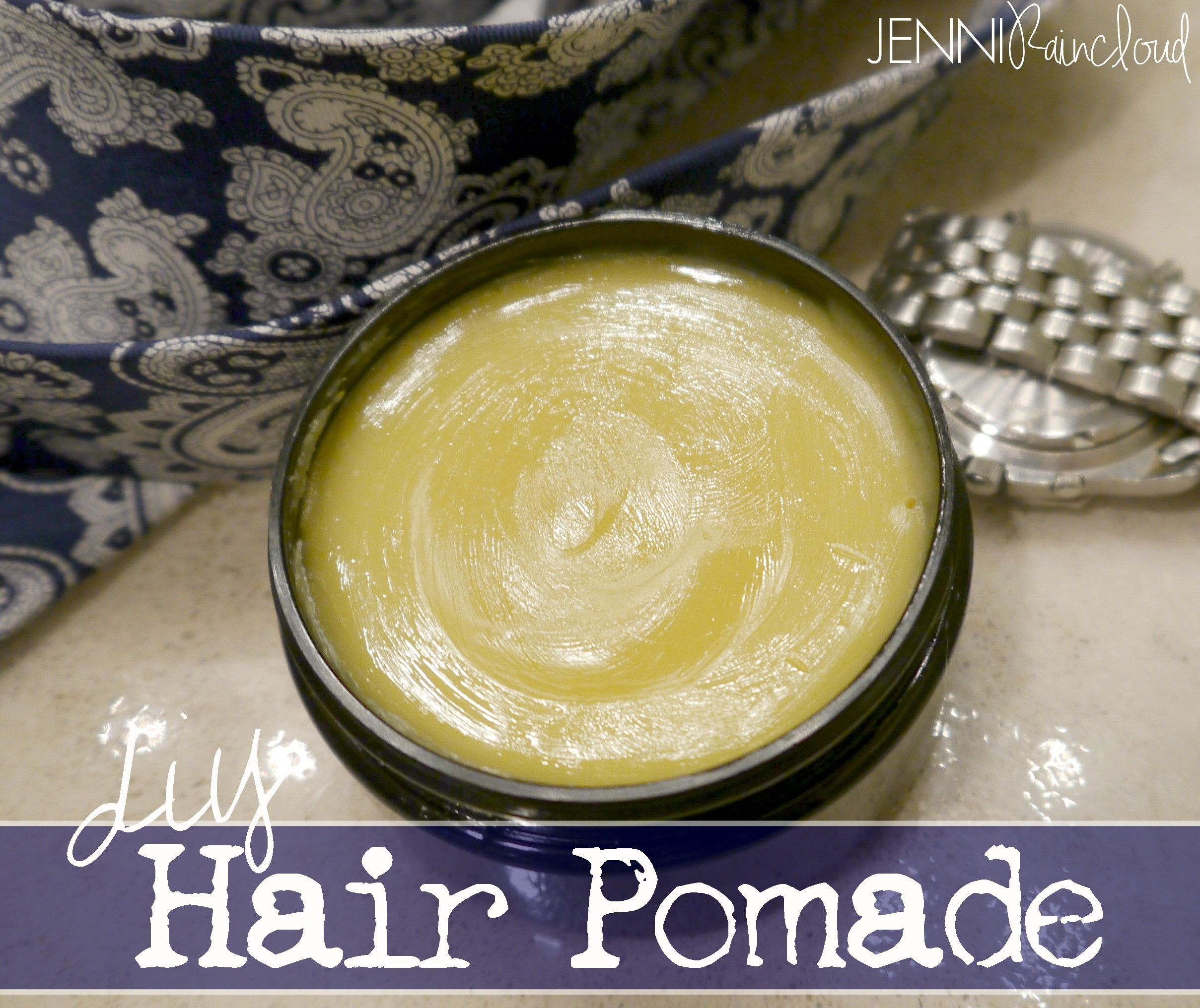 Best ideas about DIY Hair Pomade . Save or Pin Homemade Organic Hair Pomade Jenni Raincloud Now.