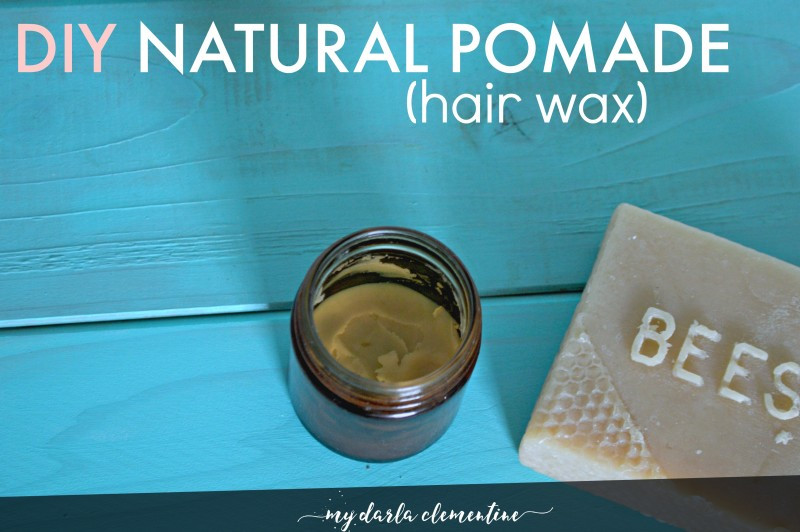 Best ideas about DIY Hair Pomade . Save or Pin DIY Natural Pomade Hair Wax free printable • My Darla Now.