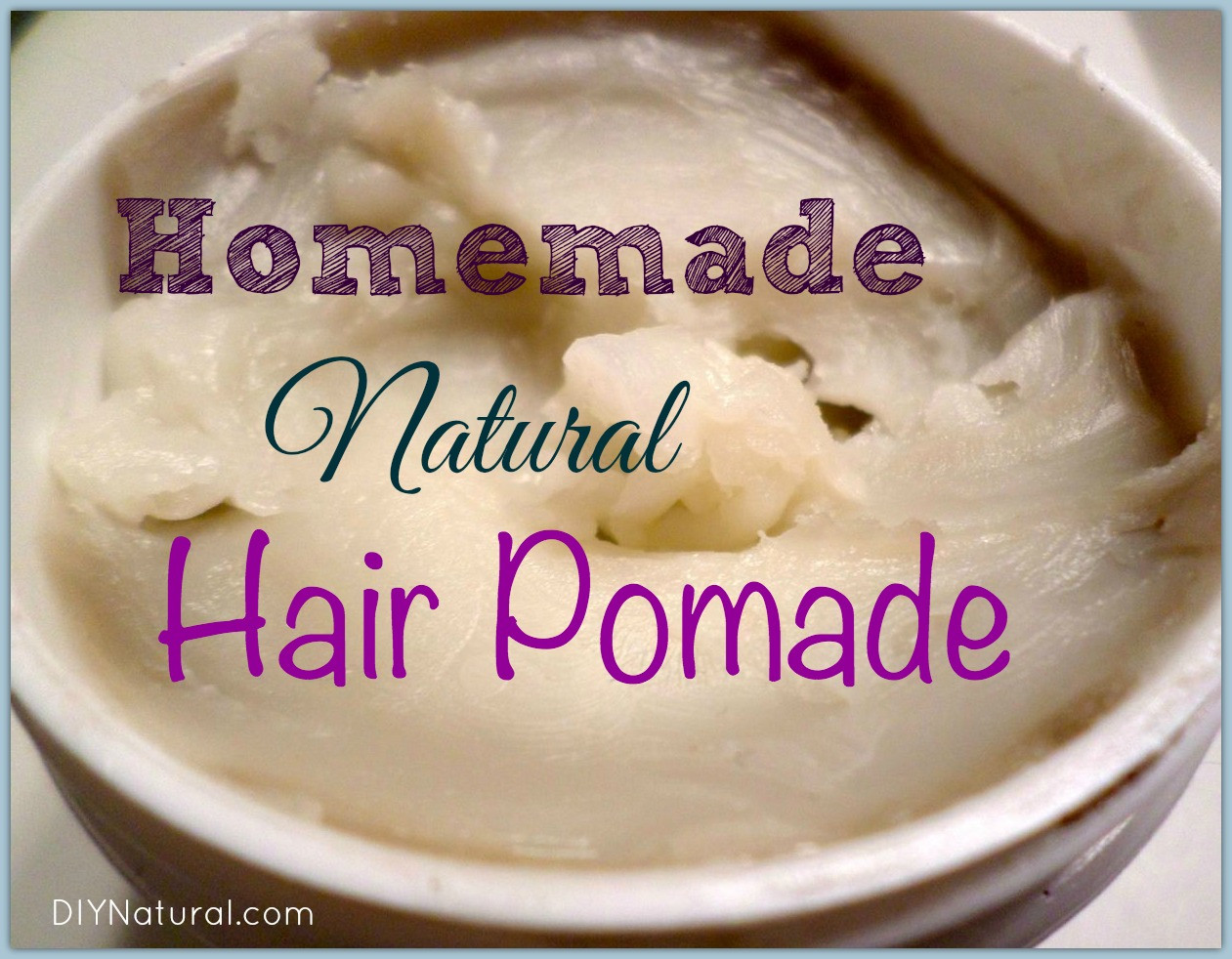 Best ideas about DIY Hair Pomade . Save or Pin A Homemade Pomade Recipe that is Natural and Non Greasy Now.