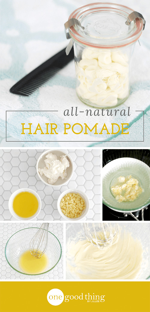 Best ideas about DIY Hair Pomade . Save or Pin Make Your Own All Natural Hair Pomade e Good Thing by Now.