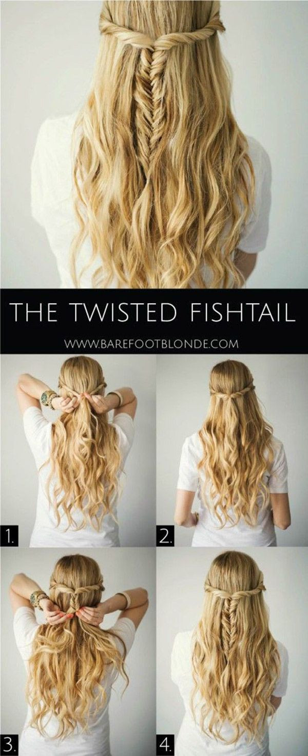 Best ideas about Diy Haircuts For Long Hair . Save or Pin 20 DIY Wedding Hairstyles With Tutorials To Try Your Own Now.