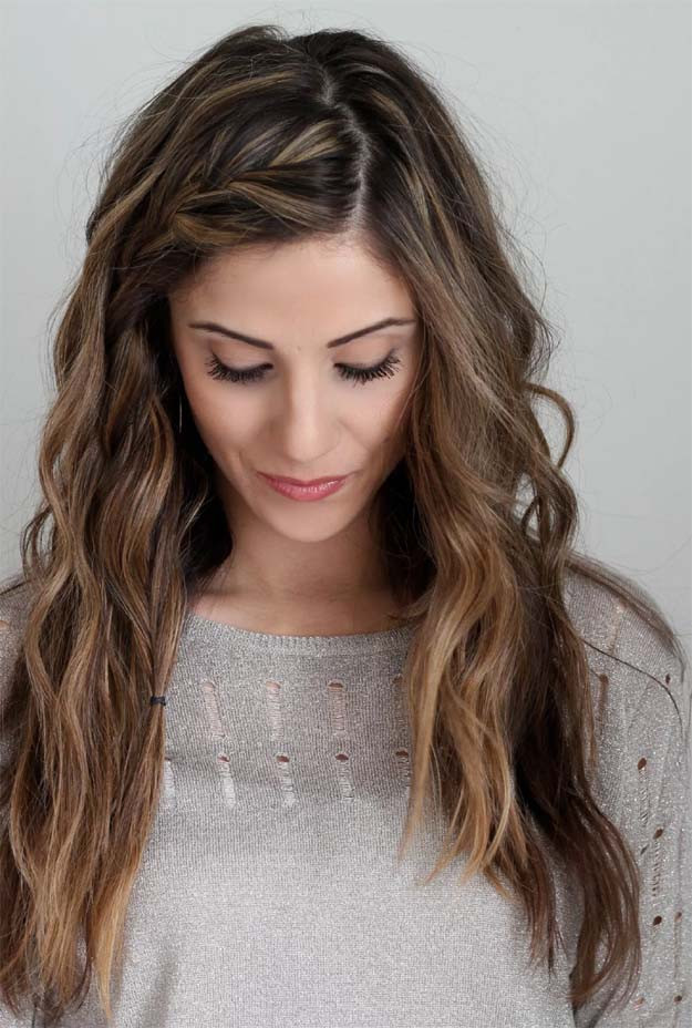 Best ideas about Diy Haircuts For Long Hair . Save or Pin 10 DIY Hairstyles For Long Hair Now.