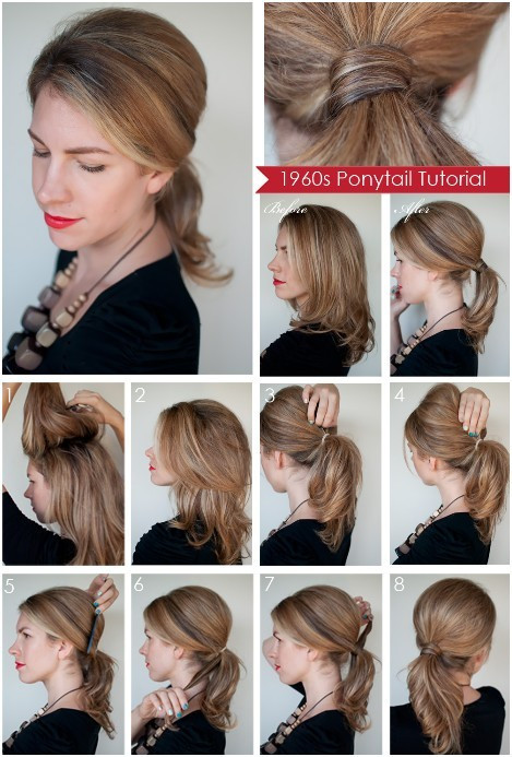 Best ideas about Diy Haircuts For Long Hair . Save or Pin Diy Ponytail Hairstyles for Medium Long Hair PoPular Now.