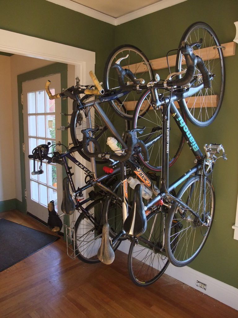 Best ideas about DIY Hanging Bike Rack . Save or Pin Bike Rack Bike Storage for the Home or Apartment Now.