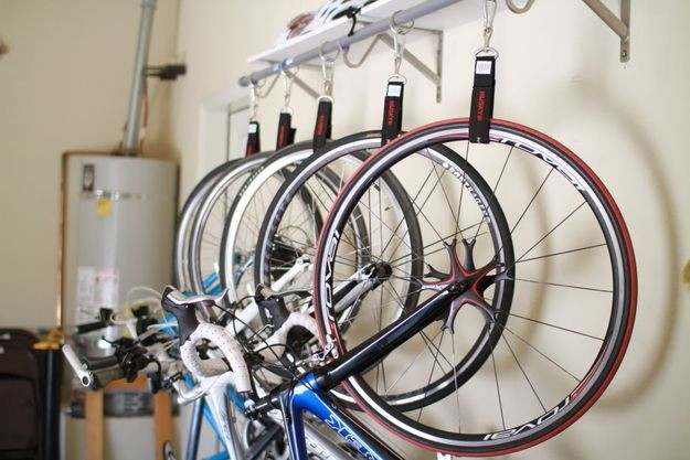 Best ideas about DIY Hanging Bike Rack . Save or Pin quality multiple bike hanging system bikez Now.
