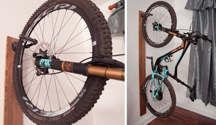 Best ideas about DIY Hanging Bike Rack . Save or Pin Creative DIY Bike Storage Racks Now.