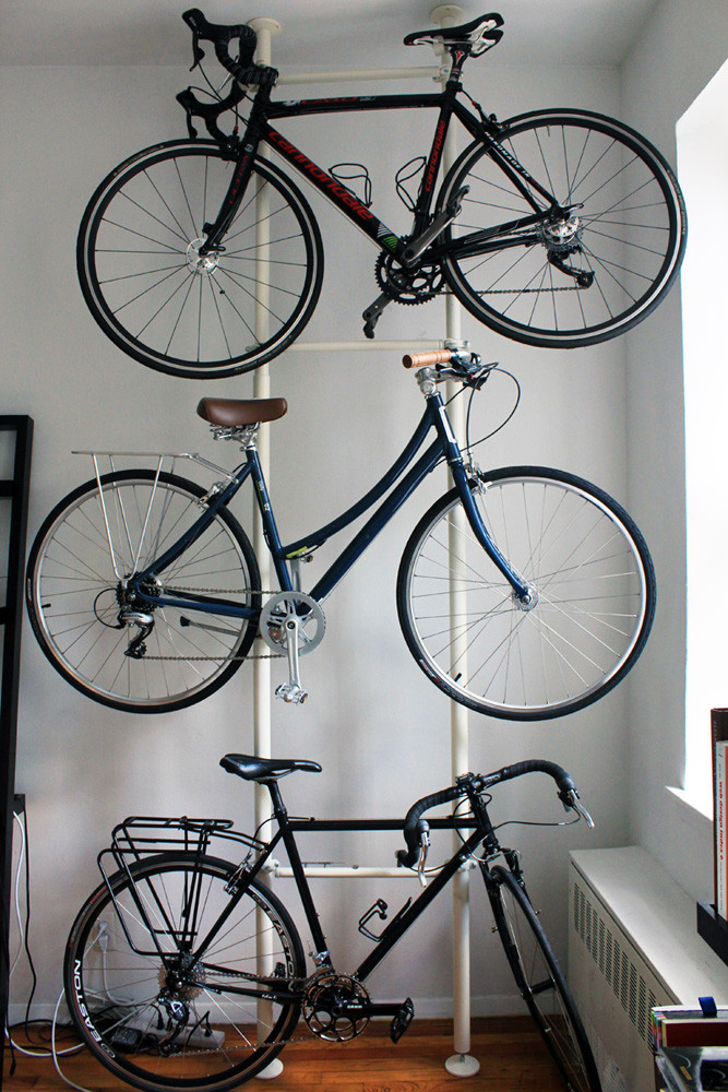 Best ideas about DIY Hanging Bike Rack . Save or Pin Bike Hack DIY Bike Storage • Bike SLO County Now.