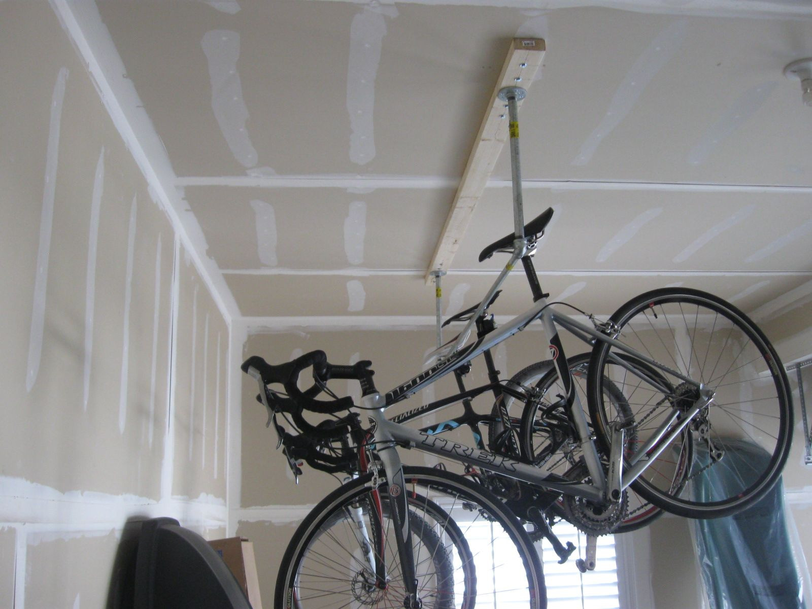 Best ideas about DIY Hanging Bike Rack . Save or Pin DIY Homemade Garage Bike Rack Now.