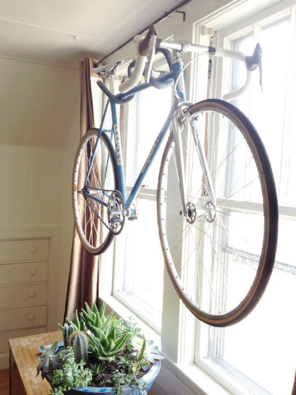 Best ideas about DIY Hanging Bike Rack . Save or Pin Three Ingenious Bike Hangers With Unusual designs Now.