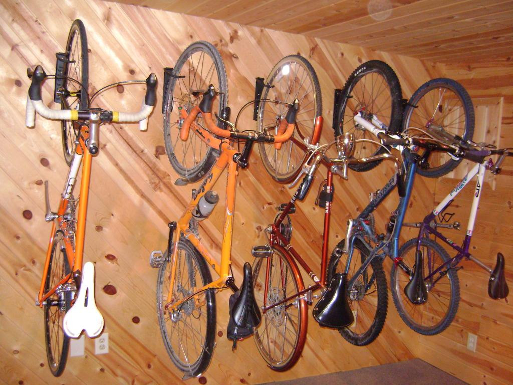 Best ideas about DIY Hanging Bike Rack . Save or Pin Diy Outdoor Bike Storage — New Home Design Needed DIY Now.