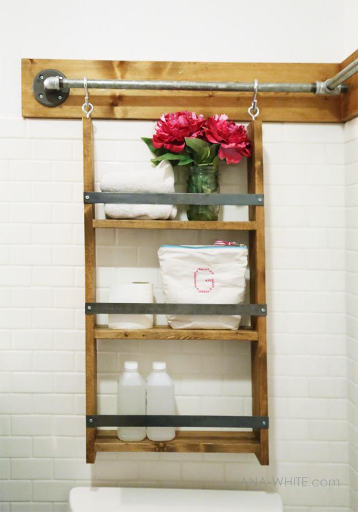 DIY Hanging Organizer  Ana White