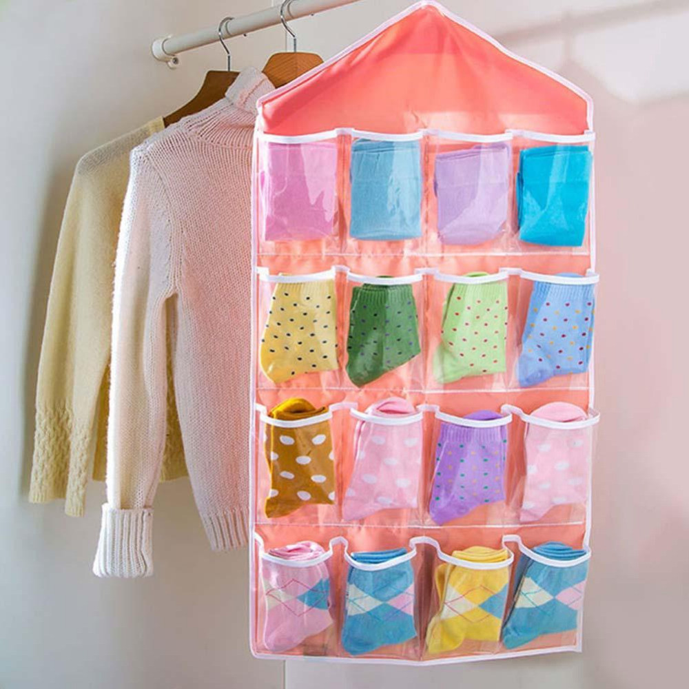 DIY Hanging Organizer  Popular Pink Closet Organizer Buy Cheap Pink Closet